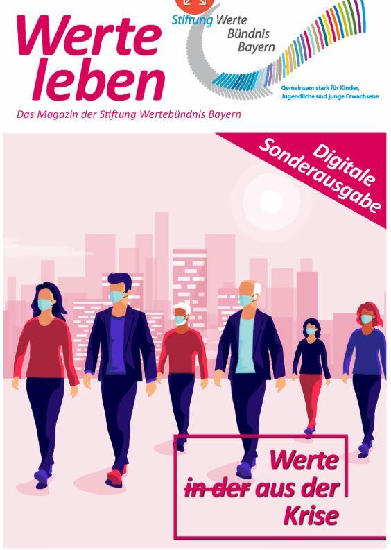 Cover: Werte leben